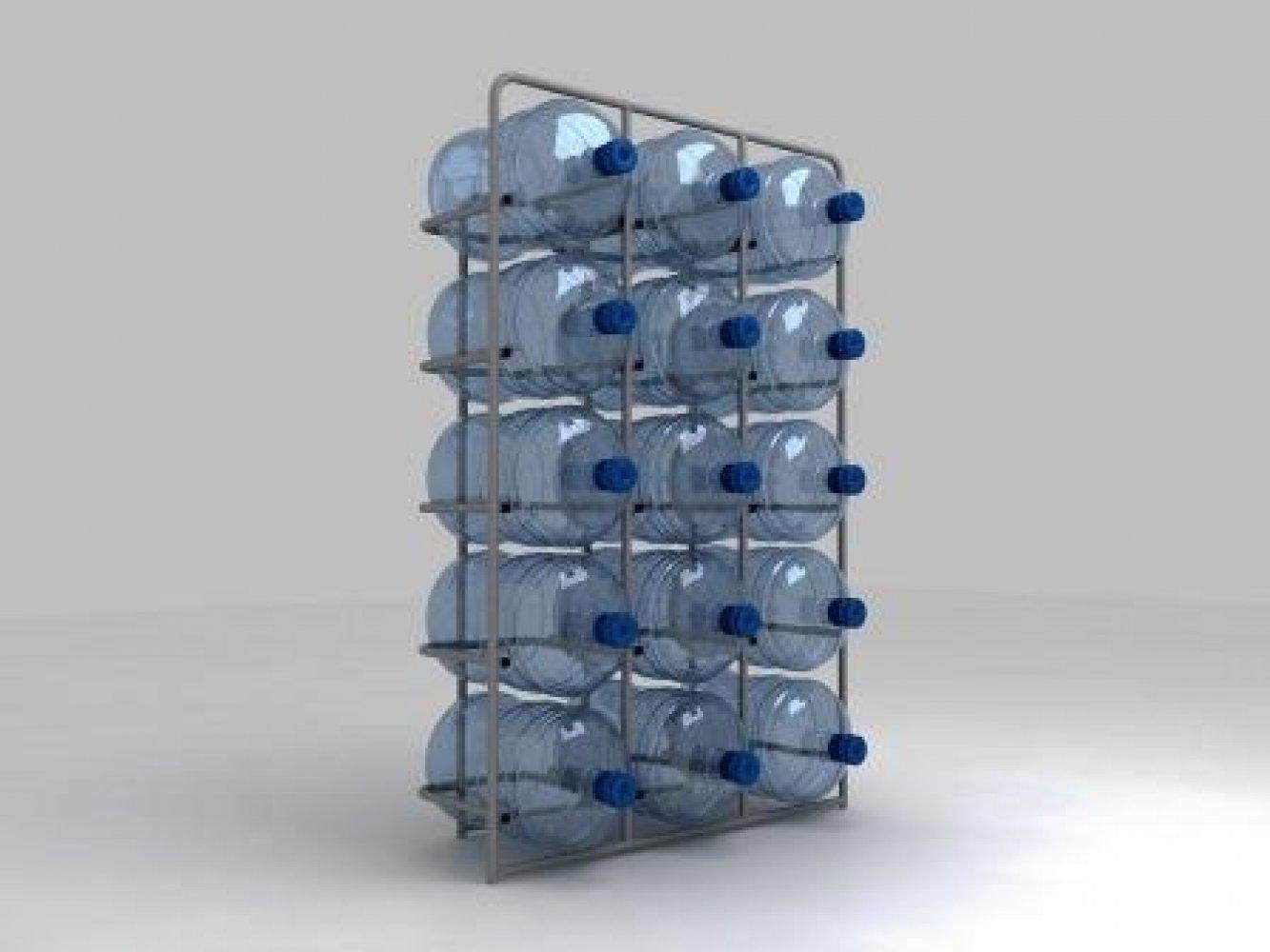 Подставка металлическая для 15-и бутылей СВ-15