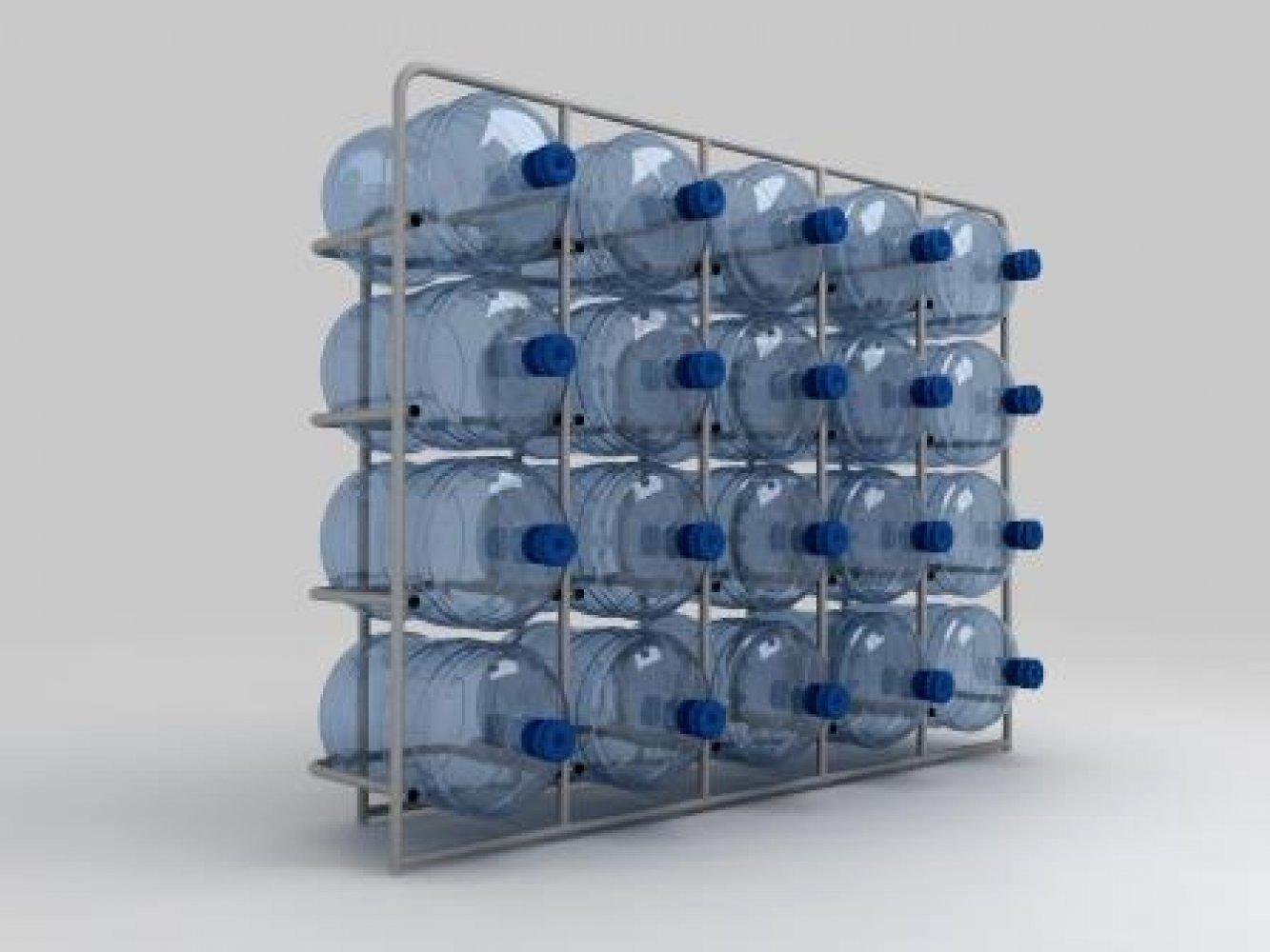 Подставка металлическая для 20-и бутылей СВ-20