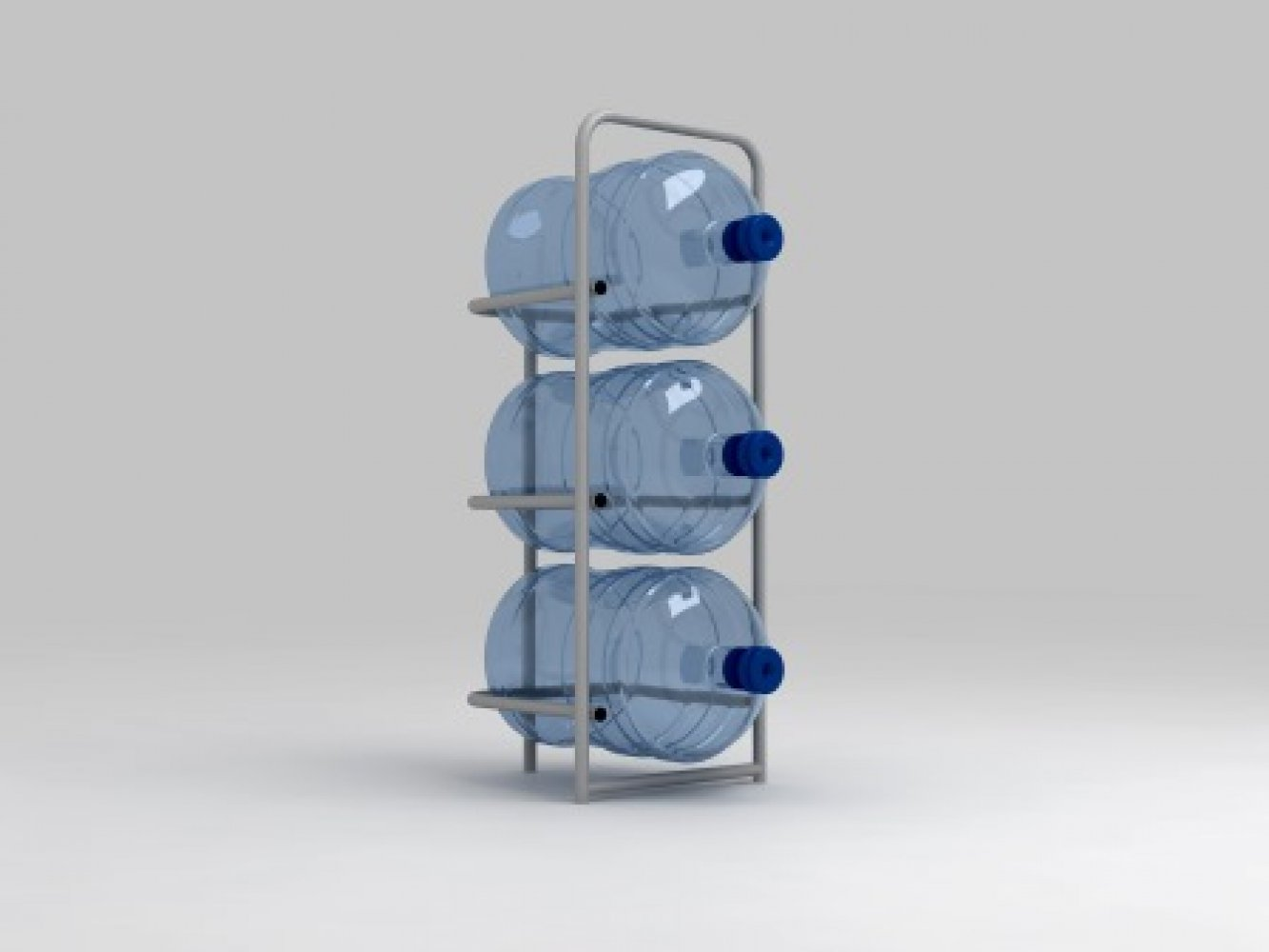 Підставка металева для 3 бутлів СВ-3
