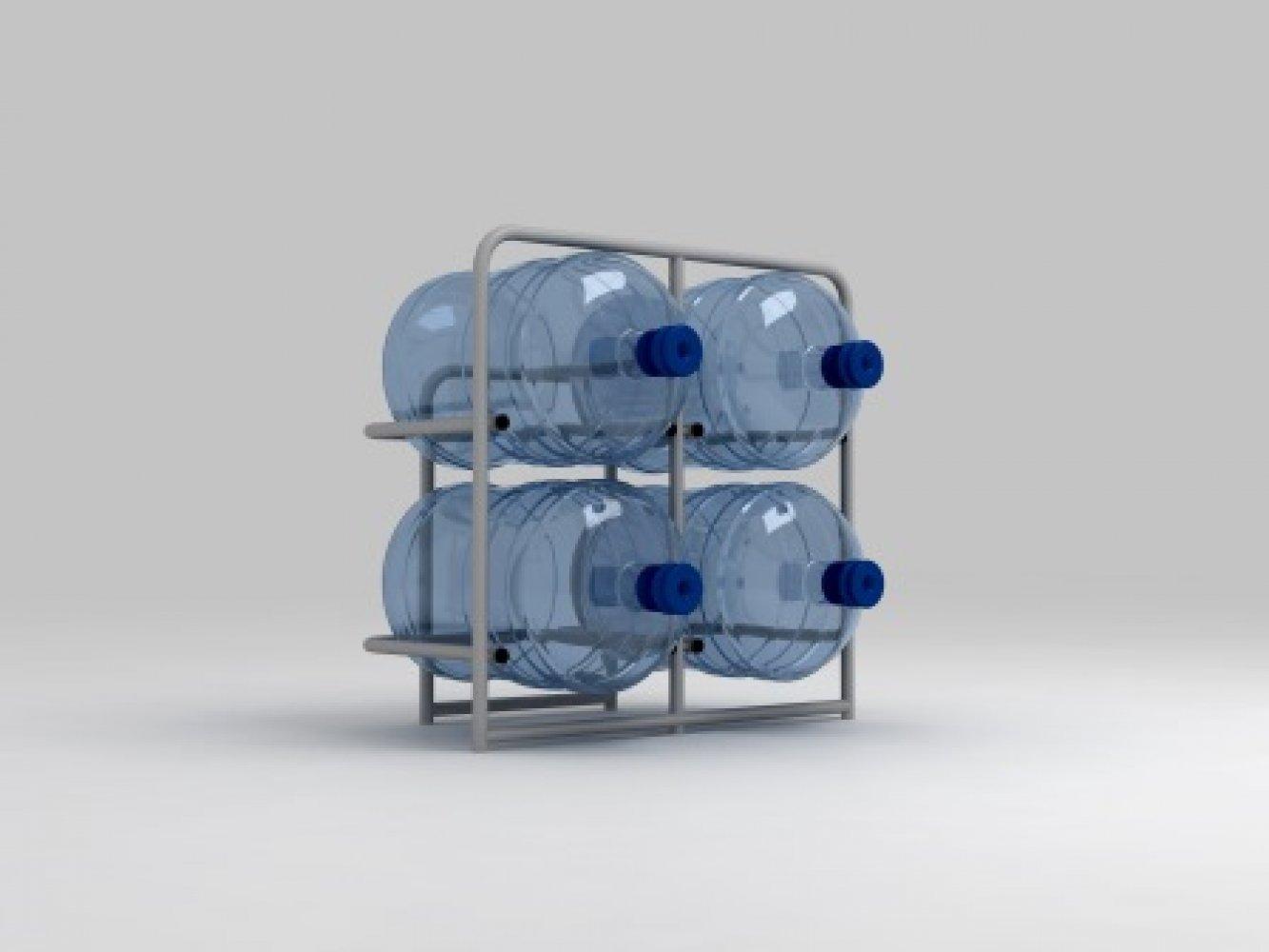 Подставка металлическая для 4-х бутылей СВ-4