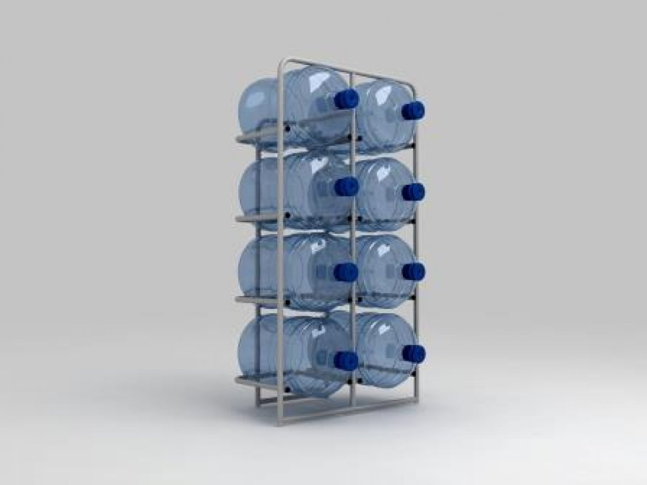 Подставка металлическая для 8-и бутылей СВ-8