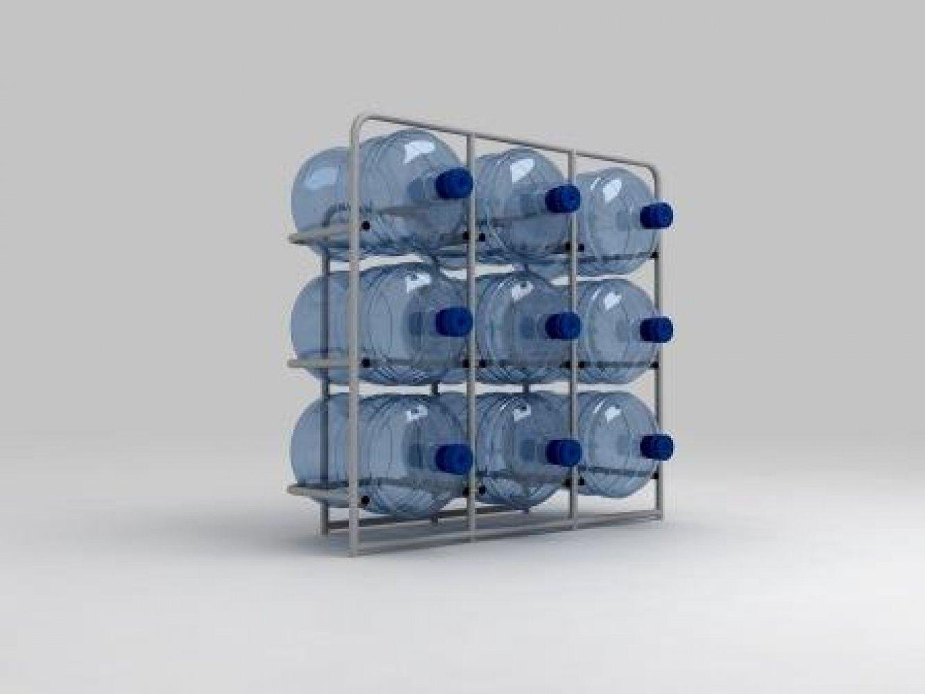 Подставка металлическая для 9-и бутылей СВ-9