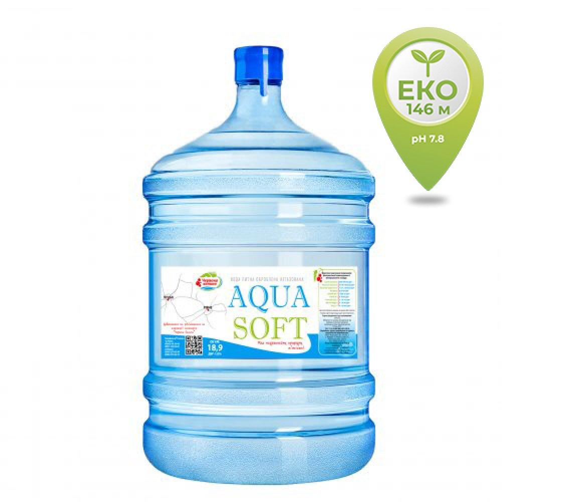 Вода бутильована AQUA SOFT 18,9 л