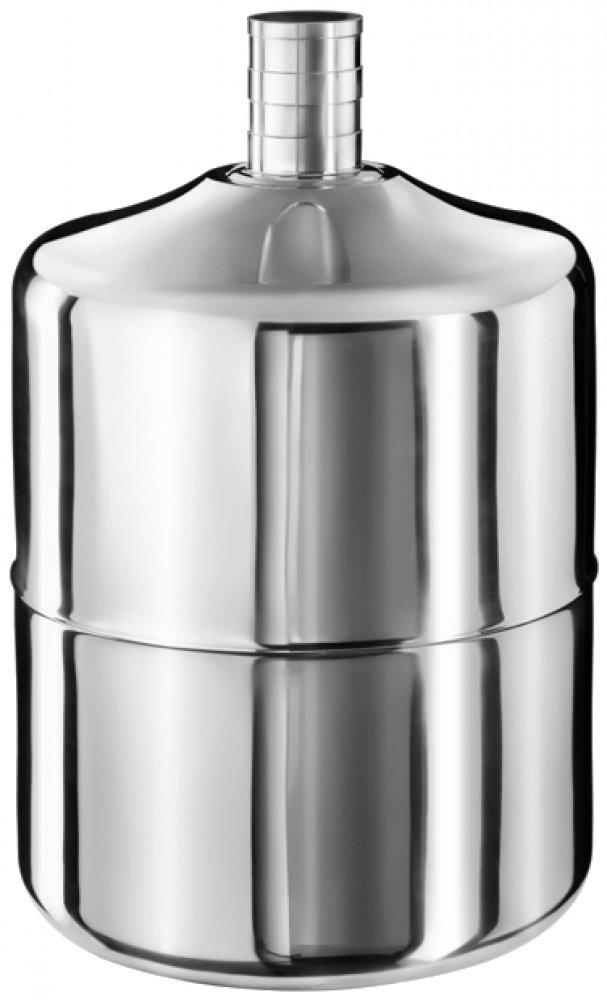 Бутыль 19 л - нержавеющая сталь