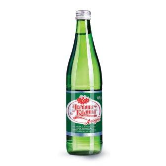 Упаковка воды питьевой сильногазированная Червона калина 0.5л х 6 шт в стекле