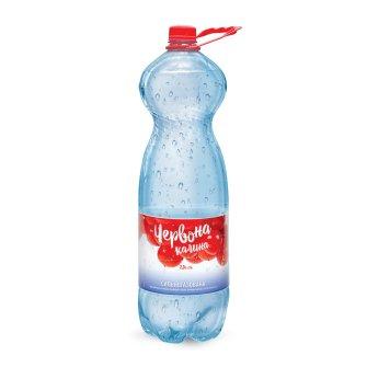 Упаковка минеральной сильногазированной воды лечебно-столовой Червона калина 2л х 6 шт