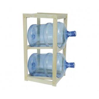 Подставка деревянная SVP под 2 бутыля для воды