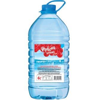 Упаковка мінеральної води природної столової негазованої Червона Калина Лагідна 6л х 2 шт