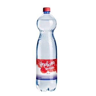 Упаковка минеральной сильногазированной воды лечебно-столовой Червона калина 1.5л х 6 шт