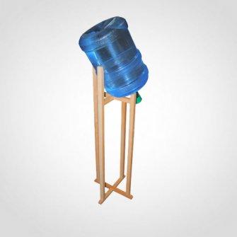 Подставка деревянная наклонная для установки на пол
