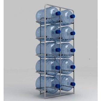 Підставка металева для 10 бутлів СВ-10