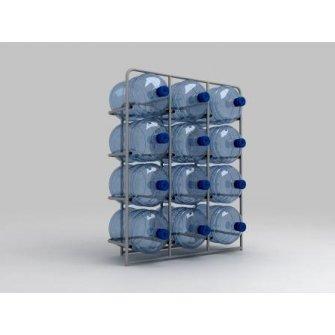 Підставка металева для 12 бутлів СВ-12