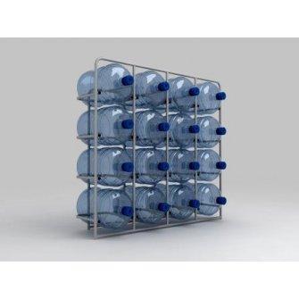 Подставка металлическая для 16-и бутылей СВ-16
