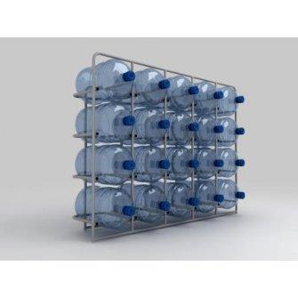 Підставка металева для 20 бутлів СВ-20