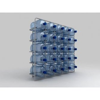 Подставка металлическая для 25-и бутылей СВ-25