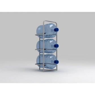 Подставка металлическая для 3-х бутылей СВ-3