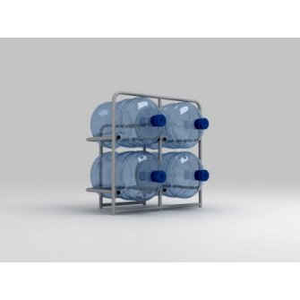Підставка металева для 4 бутлів СВ-4