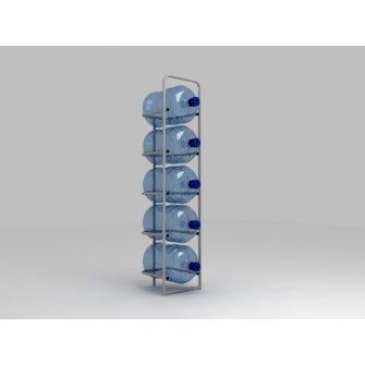 Подставка металлическая для 5-и бутылей СВ-5