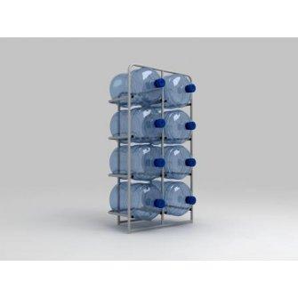 Підставка металева для 8 бутлів СВ-8