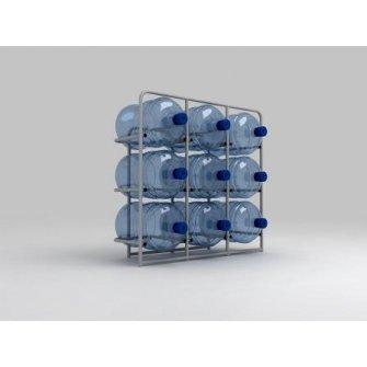 Підставка металева для 9 бутлів СВ-9