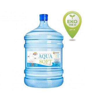 Вода бутилированная AQUA SOFT 18,9 л