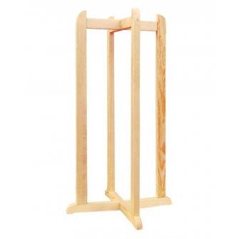 Підставка дерев'яна хрестова висока