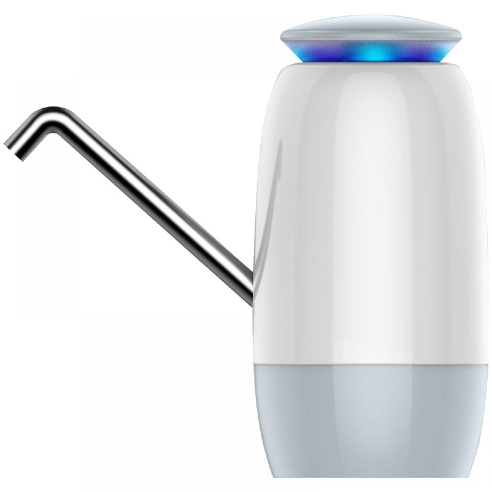Беспроводная USB помпа для воды с двойным мотором и защитой от детей ViO E10-DL white